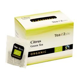 Tea2You Grøn te m/Citrus