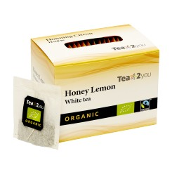 Tea2You White te Honning og citron