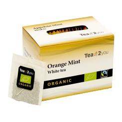 Tea2You White te Appelsin og Pebermynte
